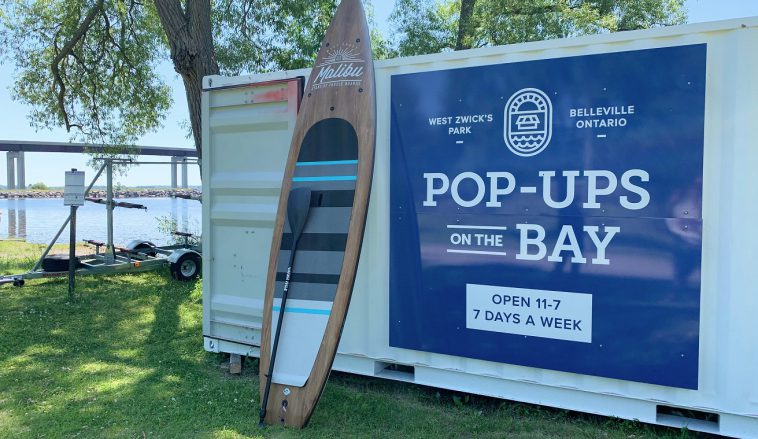Pop Ups on the Bay