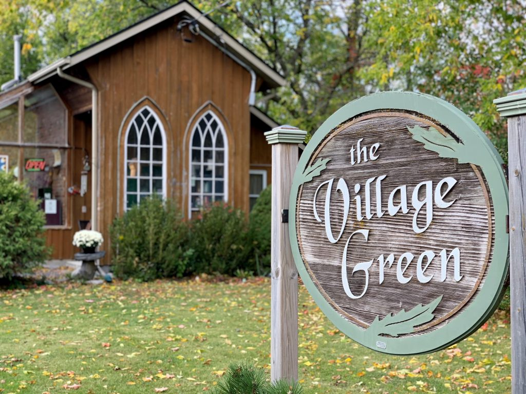 The Village Green is located in Foxboro, just outside of Belleville, Ontario